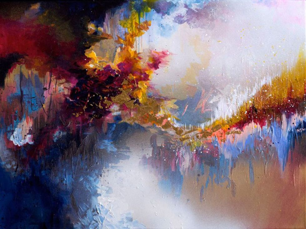 From a Rare Neurological Condition Comes Gloriously Vibrant Art