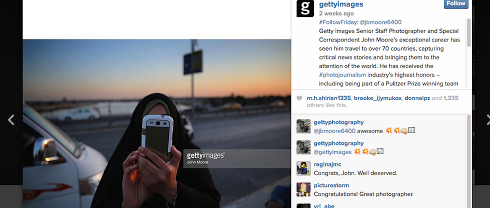 Getty Images Offers $30,000 in Grants to Instagram Photographers