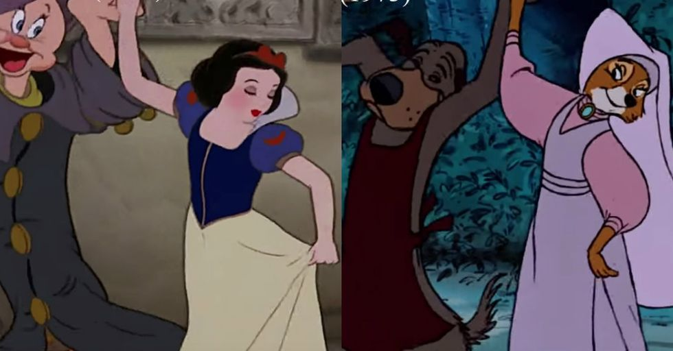 Seeing Double? Here's HowDisney Recycles Their Own Animation