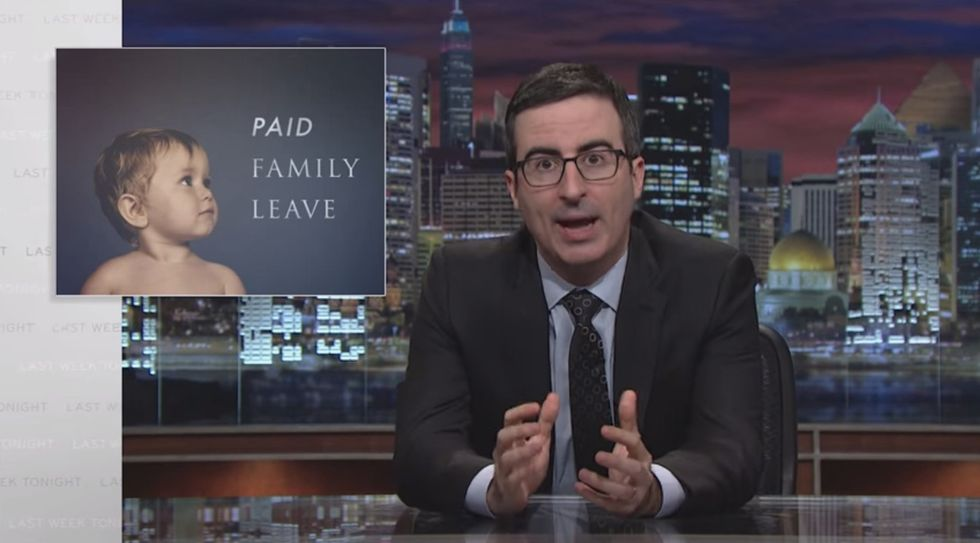John Oliver Takes On America's Terrible Maternity Leave Policies
