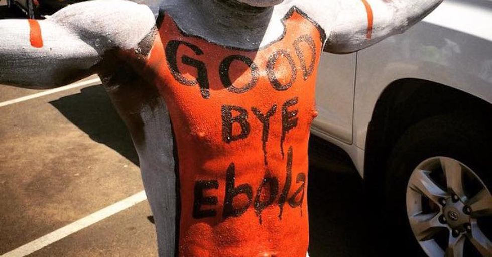 """Liberians Hit the Streets for a Joyous """"Goodbye Ebola"""" Party"""