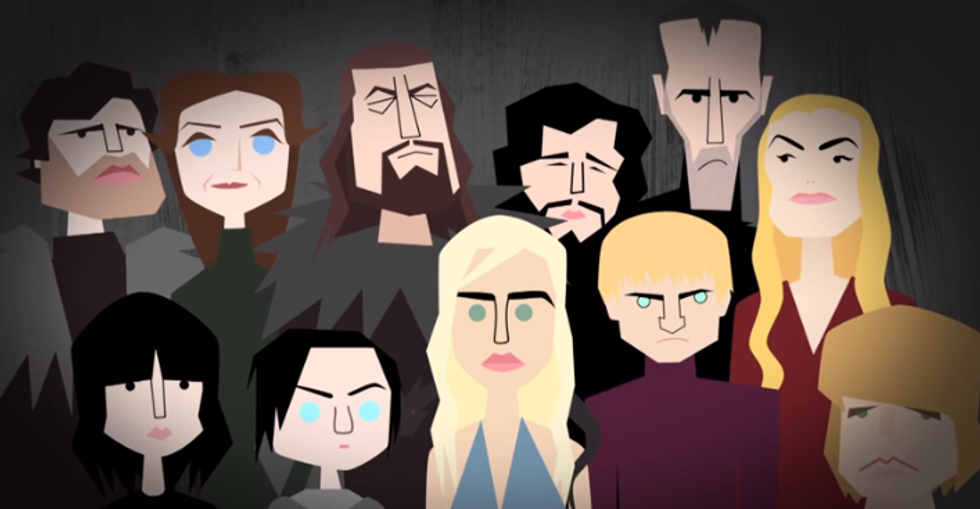 The Real Families That Inspired 'Game of Thrones'