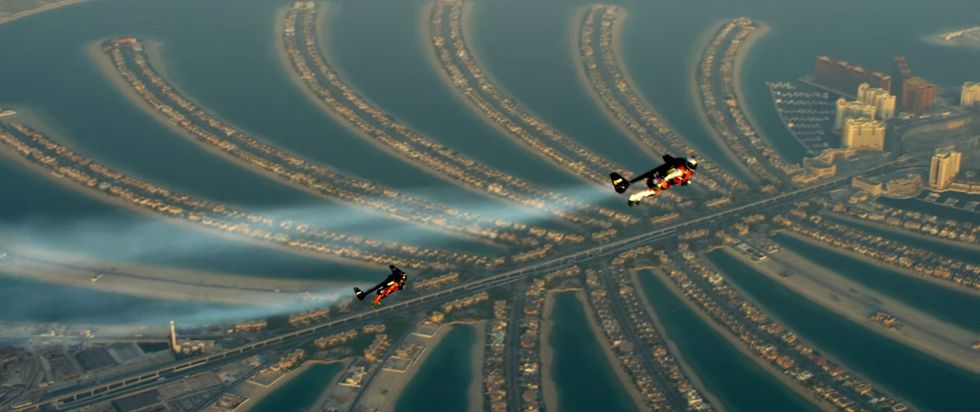 Experience Dubai by Jetpack in This Incredible First Person Video