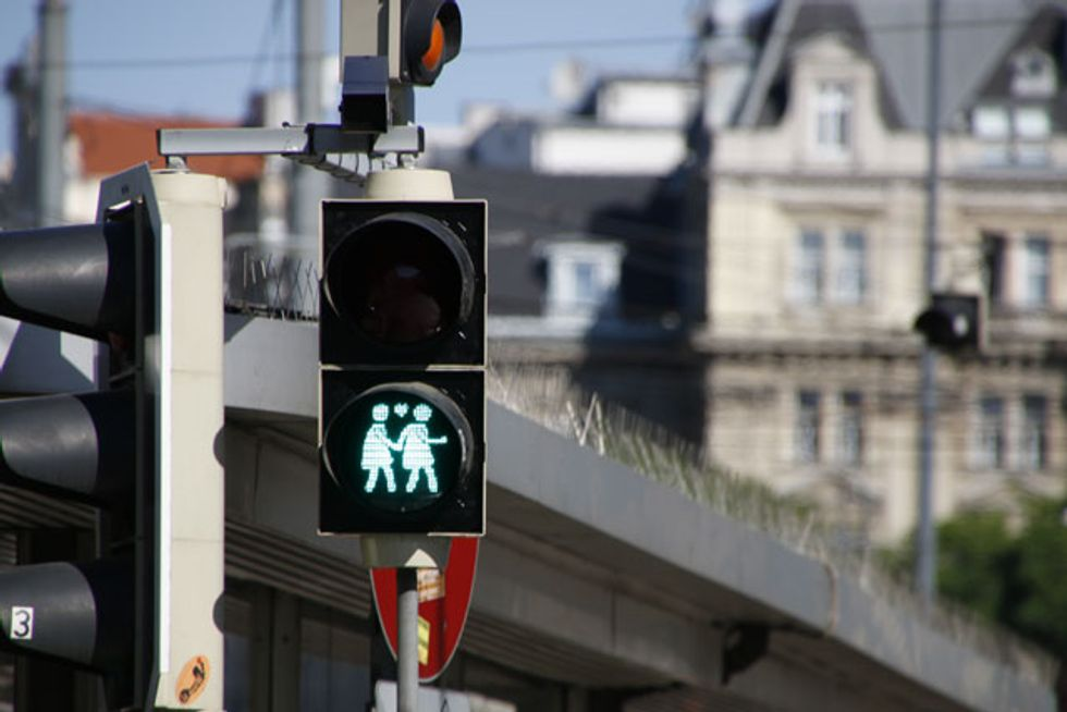 Vienna Gives the Green Light to Same-Sex Traffic Signals