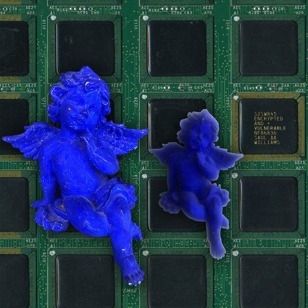 Image result for Saul Williams' New Album 'Encrypted & Vulnerable'