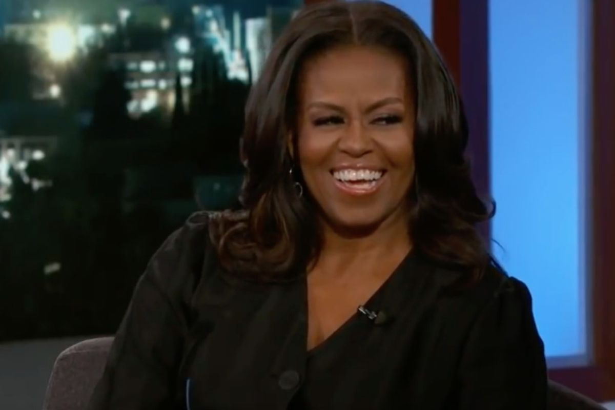 Michelle Obama named 'most admired woman in the world'—again—because of course she is
