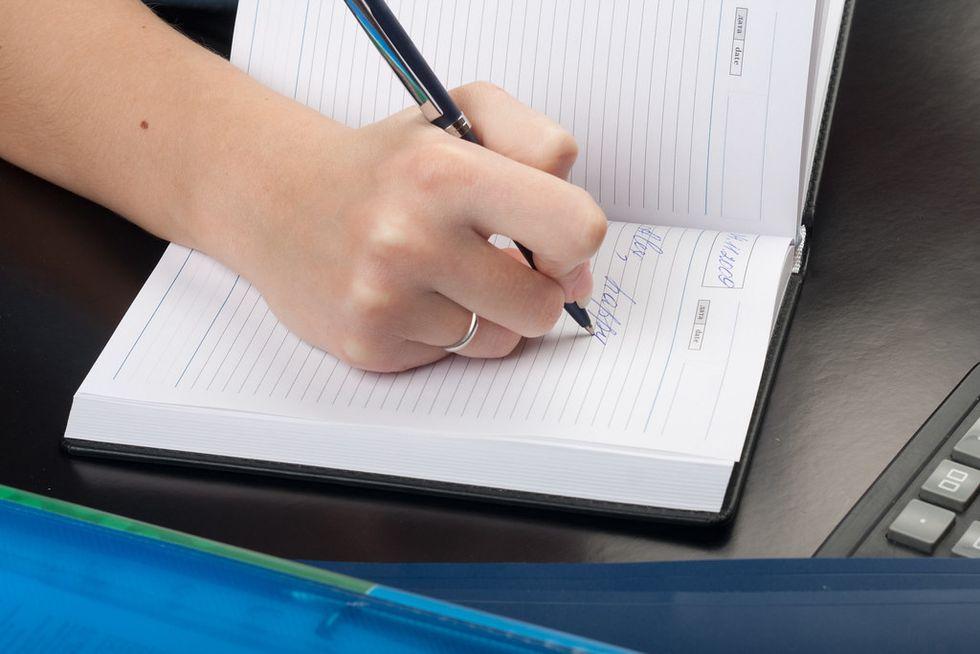 Opening Up Through Journaling
