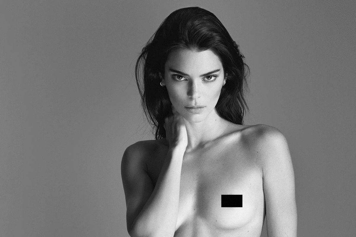 Kendall Jenner Shares Nude Pictures on Instagram