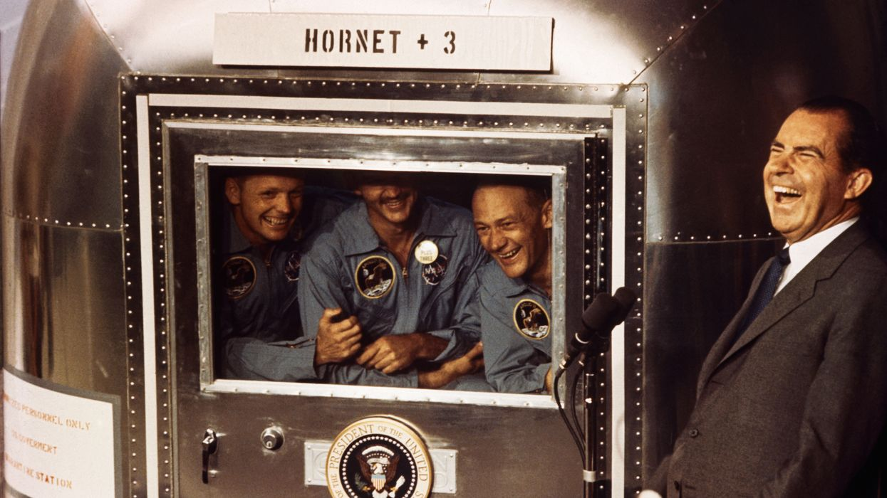 Moon landing astronauts reveal they possibly infected Earth with space germs