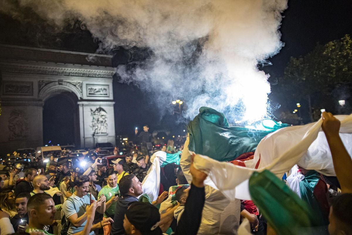 Algeria campione d'Africa, tumulti in Francia