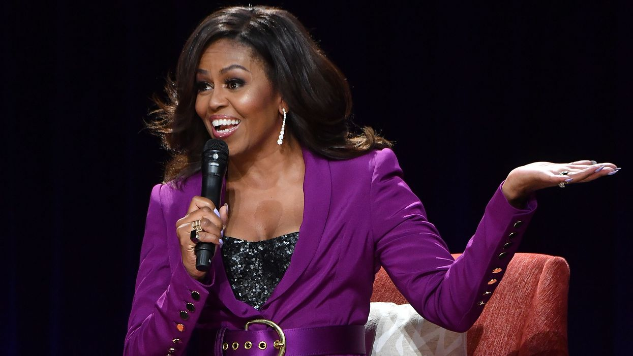 The most admired woman on planet Earth? Michelle Obama.