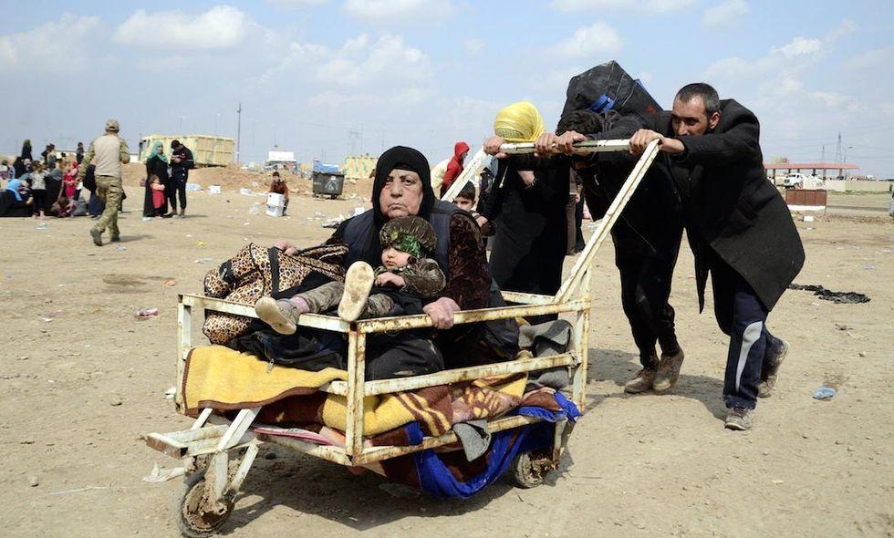 sfollati iraq Mosul