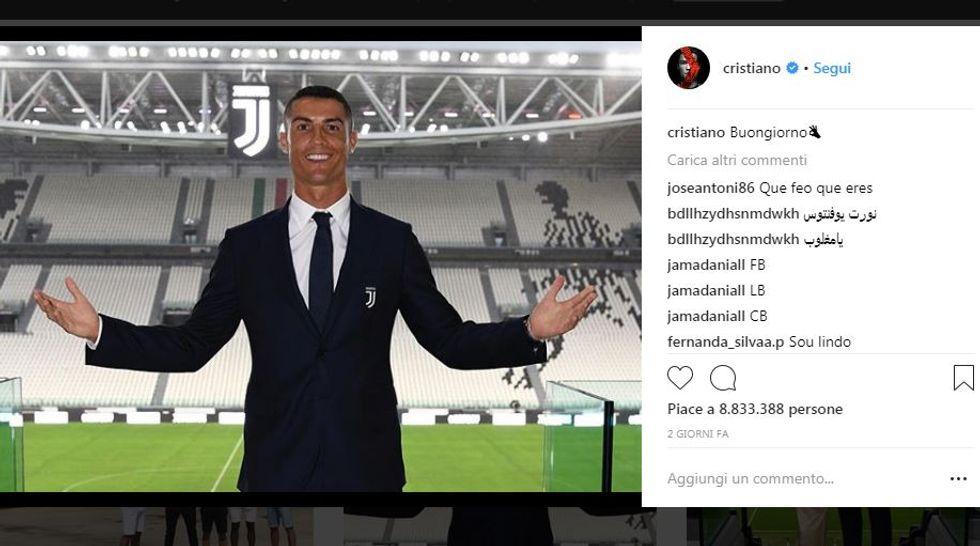 Cristiano Ronaldo, le foto da record su Instagram