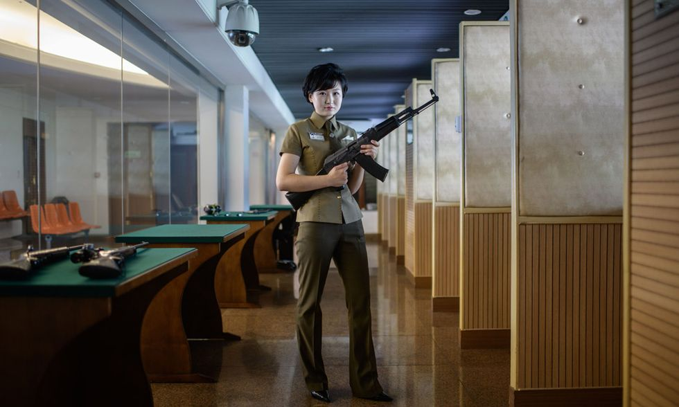 Poligono di tiro Meari a Pyongyang