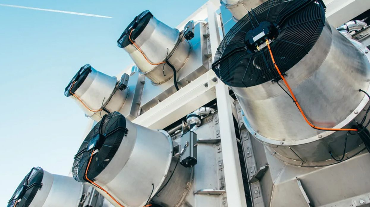 Direct CO2 Capture Machines Could Use 'a Quarter of Global Energy' in 2100