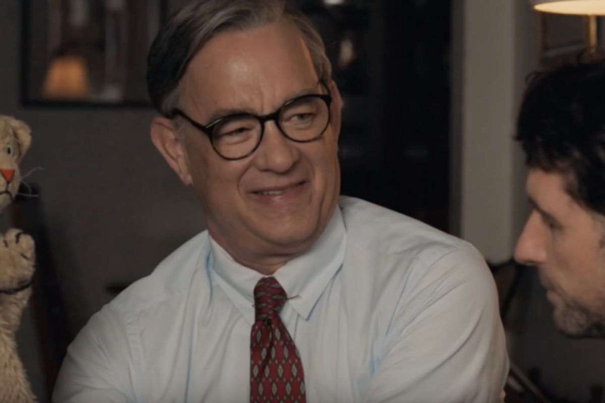 The first trailer showing Tom Hanks as Mr. Rogers is here, and the world can't handle this much goodness