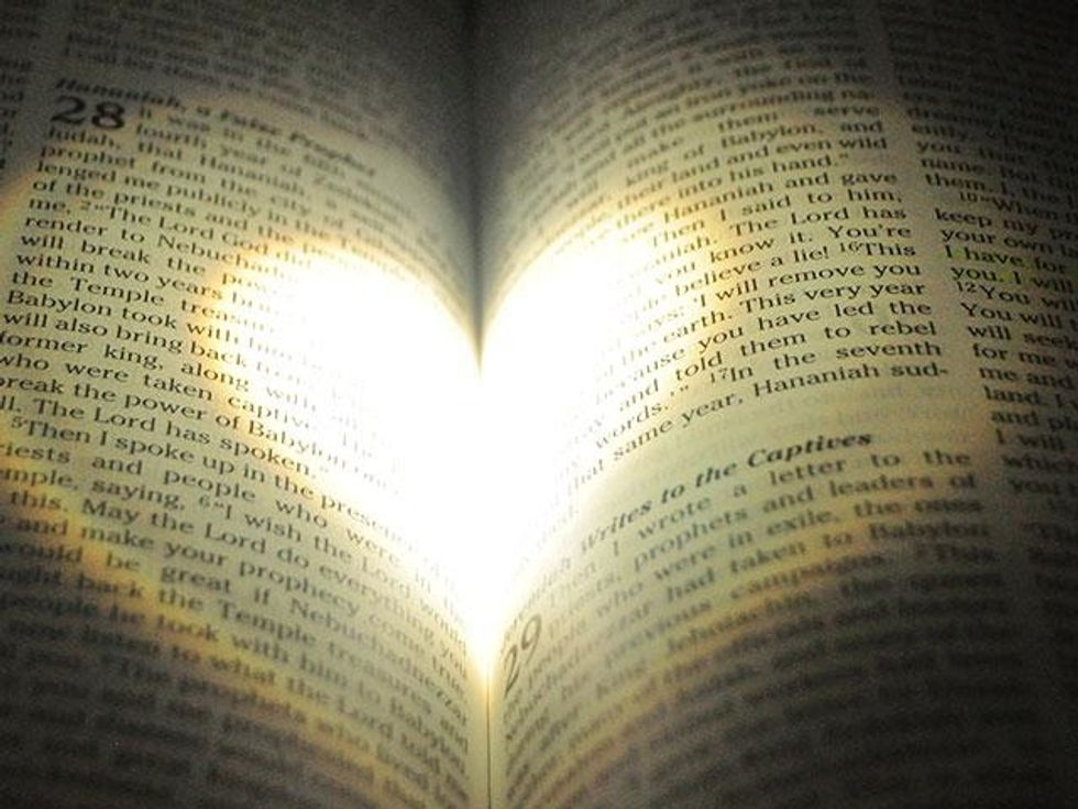 """""""Read your bible as a love letter send to from God."""""""