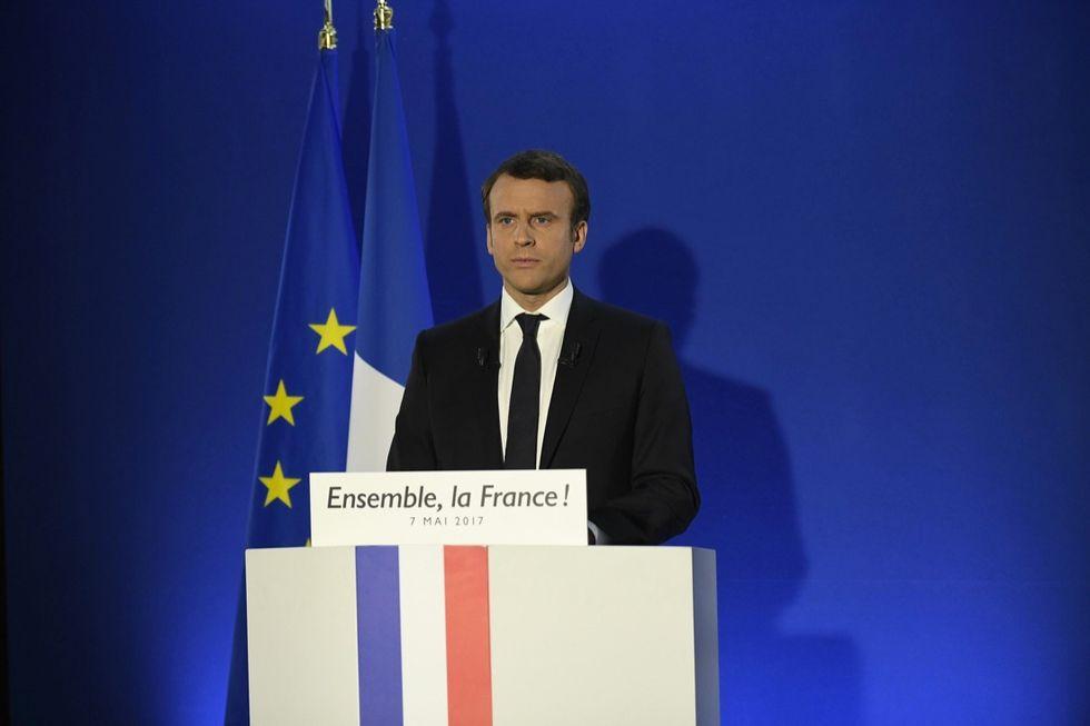 Emmanuel Macron, presidente della Repubblica francese