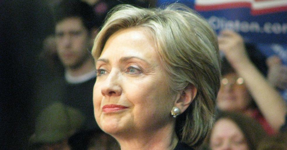 Hillary Courts UFO Believer Vote