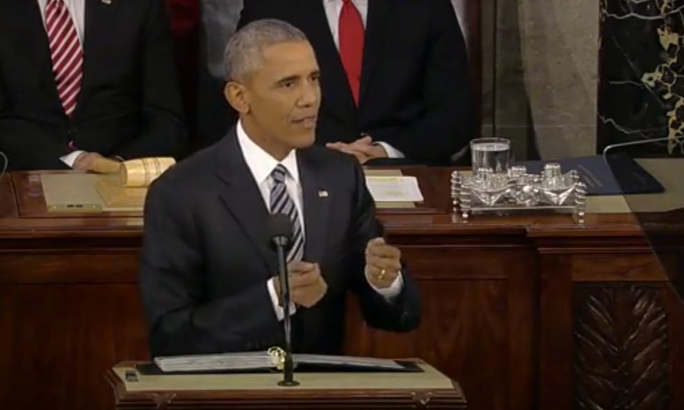 In State of the Union, Obama Calls for a More Democratic Technological Future