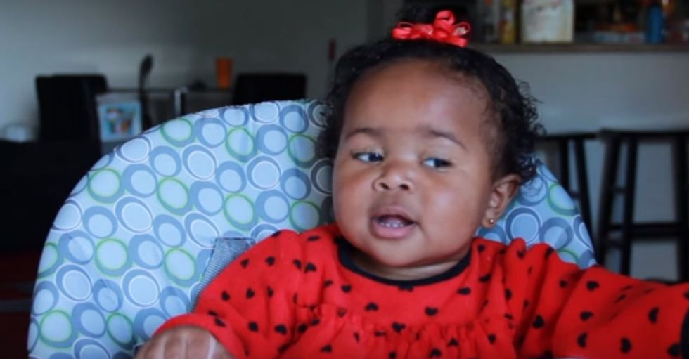 Father Interviews His 14-Month Old Daughter in This Priceless Video