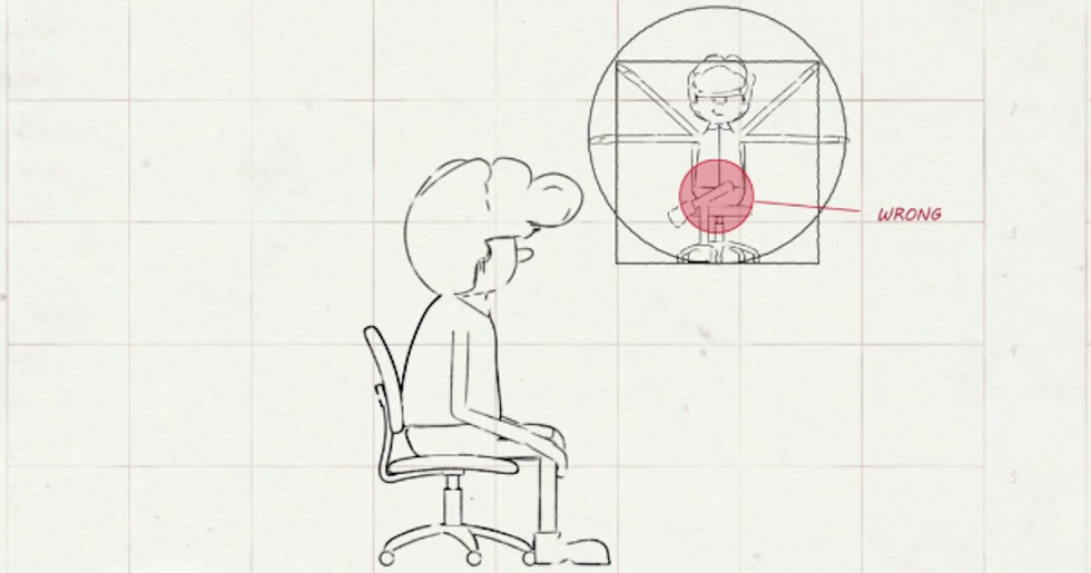 If Your Work or Home Life Involves Sitting a Lot, Take a Few Minutes to Watch This