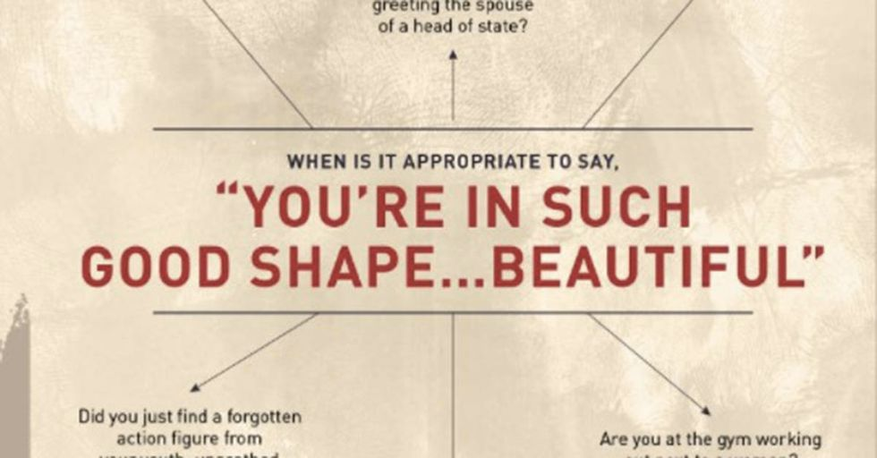 Reebok Offered A Witty Infographic In Response To Trump Ogling The French First Lady