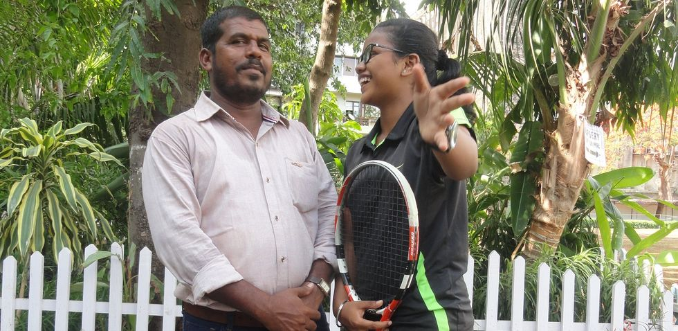 A Former Ball Boy Wants To Turn His Daughter Into The Next Serena Williams