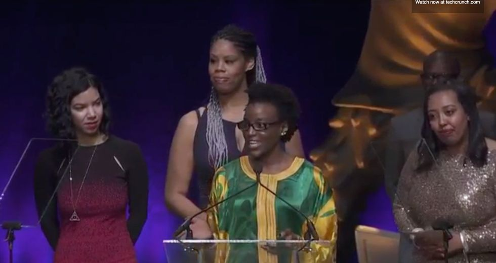 This Tech Company Sent Four Black Women Engineers to Accept Award at the Crunchies