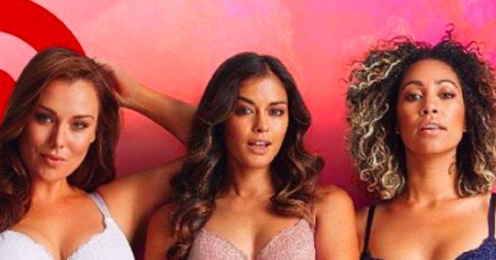 These Australian Target Ads Feature Full-Figured Women in Lingerie