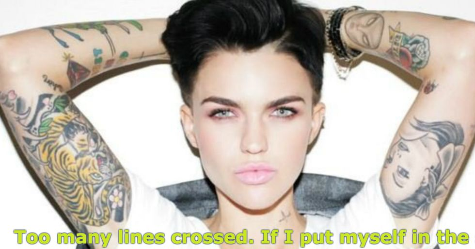 Actress Ruby Rose Condemns Kanye West's Misogyny