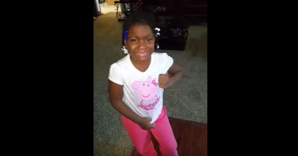 Little Girl Is Distraught After Learning Obama Can Serve Only Two Terms