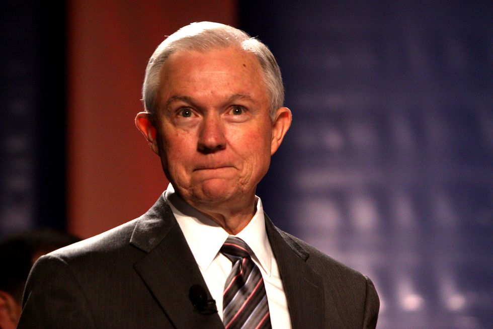 Jeff Sessions Called For Clinton To Be Prosecuted For The Same Thing He Just Did