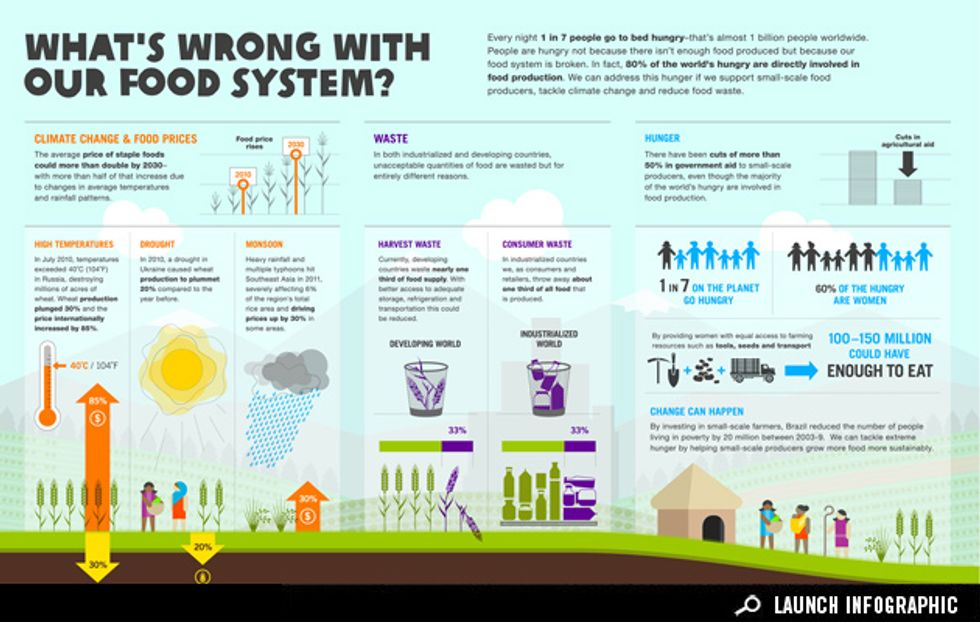 Infographic: What's Wrong with Our Food System?