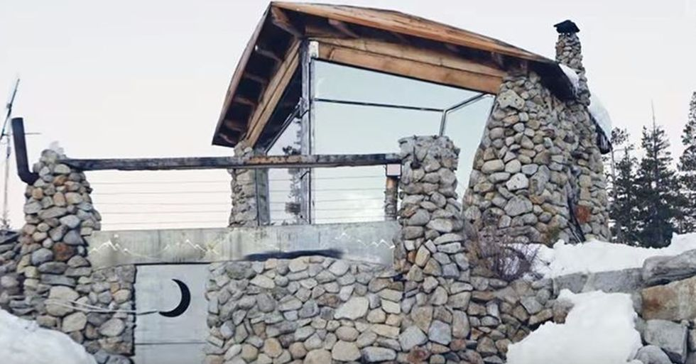 Mike Basich's Tiny Cabin Is a Snowboarder's Paradise