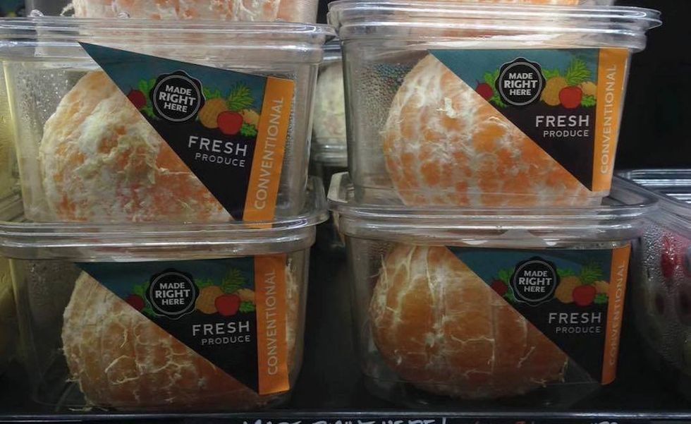 Should Supermarkets Sell Pre-Peeled Fruit?