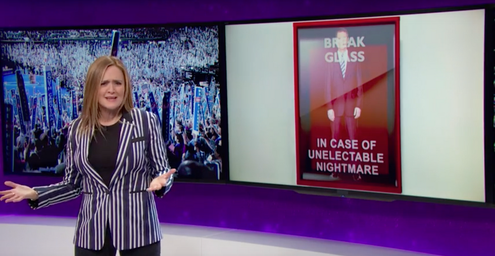 Samantha Bee Has the Superdelegates Explanation You Won't Admit You Need