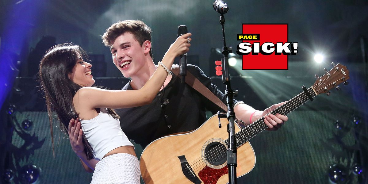 Page Sick: No, Camila Cabello and Shawn Mendes Aren't Dating