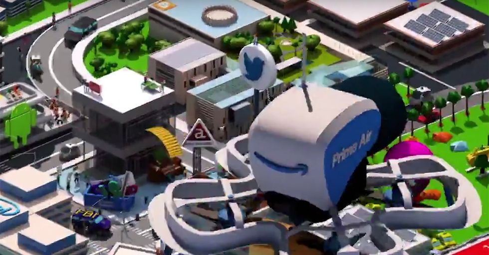'Silicon Valley' Offered Up A Subtle And Scathing Dig At Facebook In Its Opening Credits