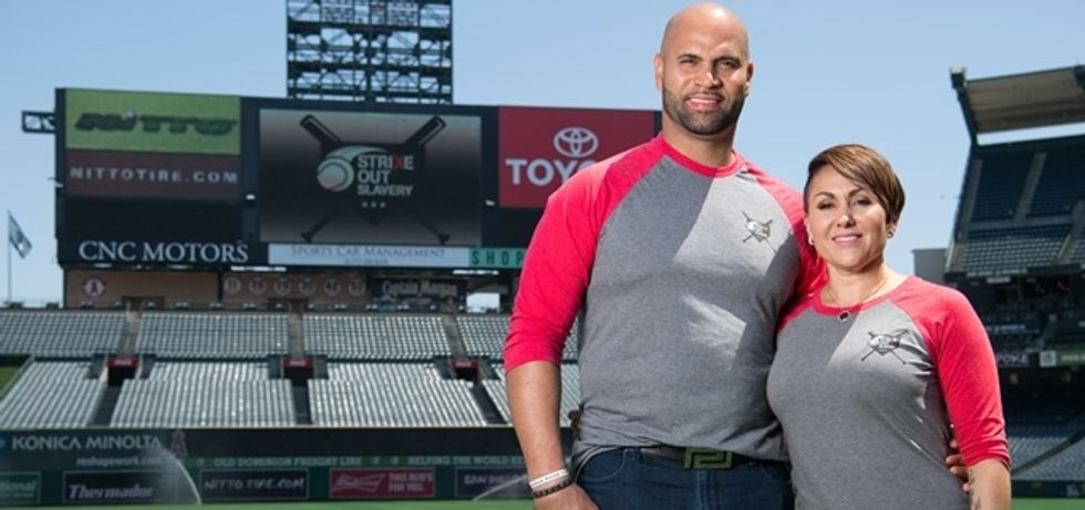 A Baseball Legend And His Wife Team Up To Fight Human Trafficking