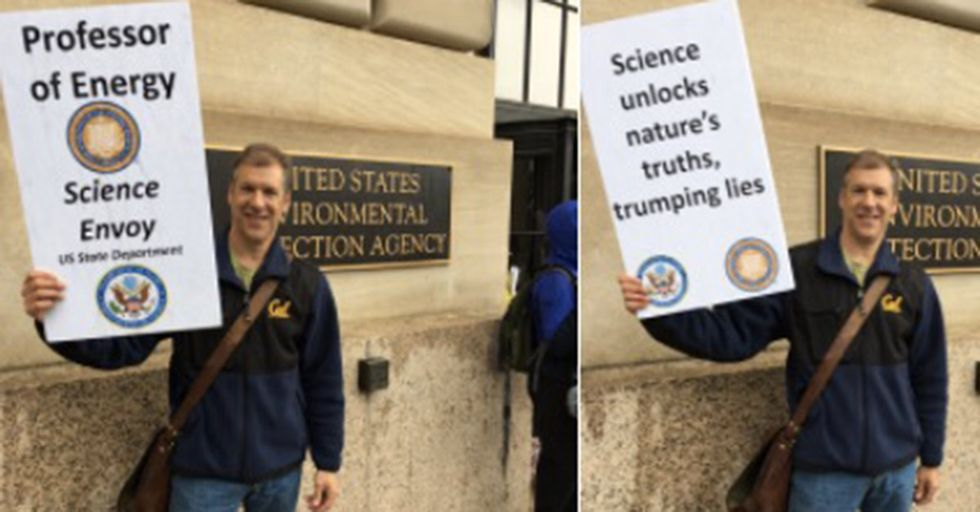 The State Department Science Envoy Sent Out A Group Resignation With A Hidden Message