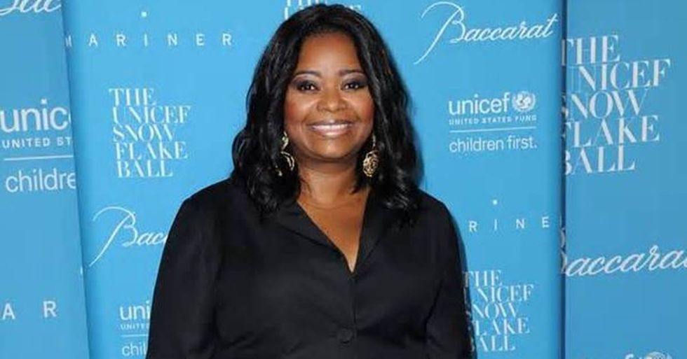 Actress Octavia Spencer Surprised By President Obama At Film Screening