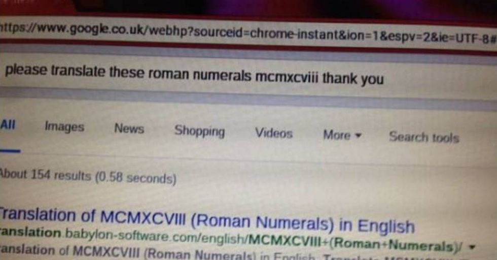 Polite Grandmother Tells Google 'Thank You'