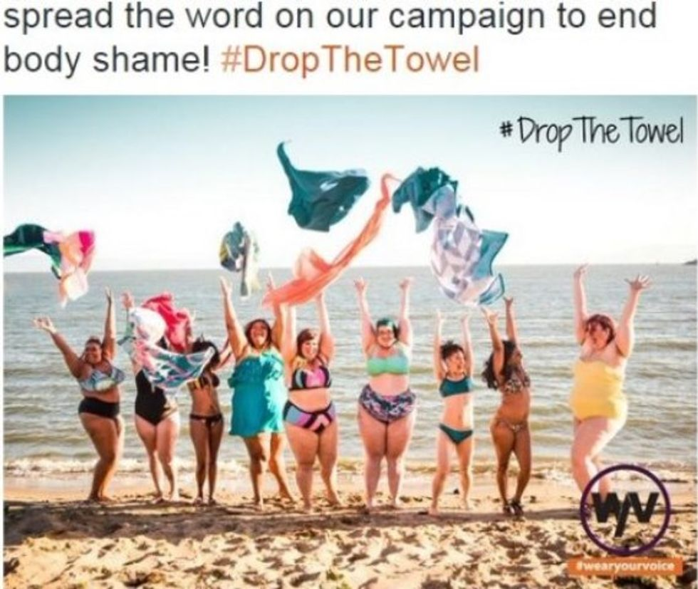"""#DropTheTowel Campaign Busts Boring """"Beach Body"""" Stereotypes"""