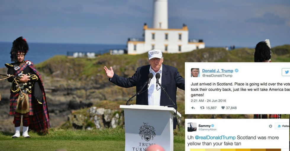 Donald Trump's Ridiculous Brexit Tweet Is Getting Some Amazing Replies