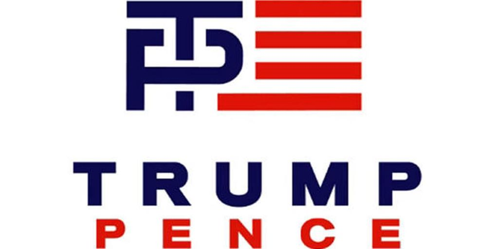 The Trump-Pence Ticket Reveals Its Logo