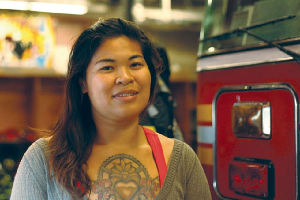 Meet NYC's Only Asian Female Firefighter