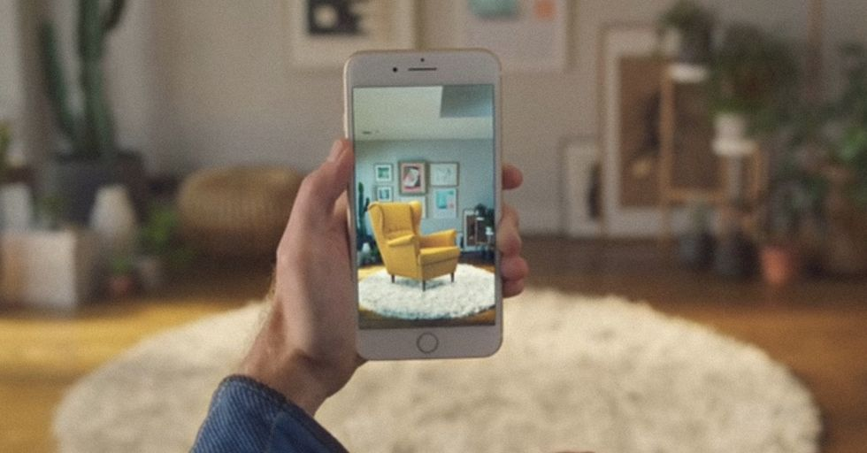 IKEA's Augmented Reality App For iPhone 8 Might Just Change The Way You Decorate Your Home