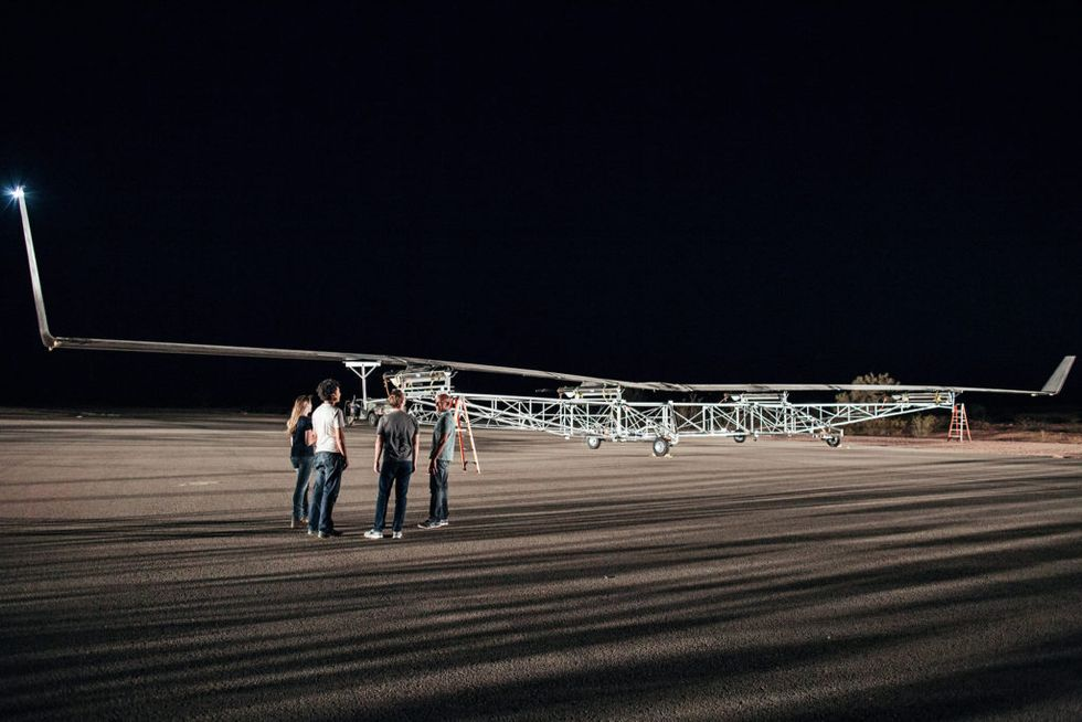 Facebook Finally Launches An Enormous, Internet-Beaming Drone