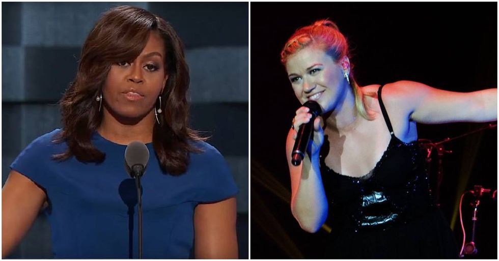 Kelly Clarkson Shuts Down Michelle Obama Troll